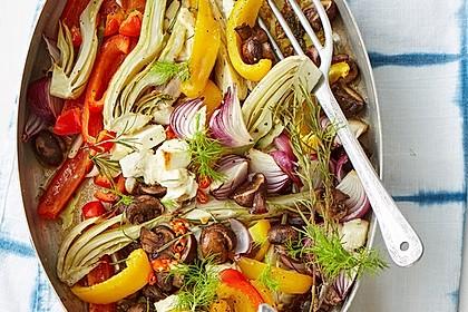 Ofengemüse mit Fenchel und Champignons 1