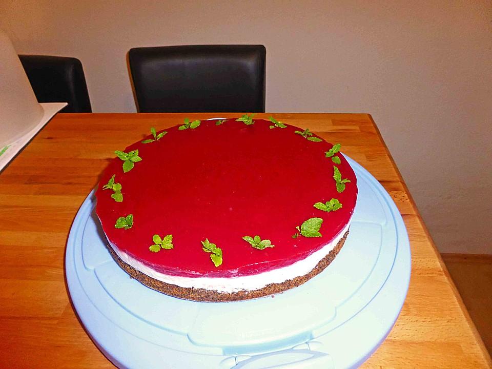 Mohn Himbeer Quark Torte Von Xymillixy Chefkoch De