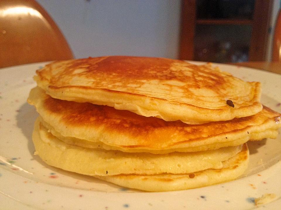 Mini Pfannkuchen Oder Pancakes Von Goa4all Chefkoch De