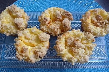 Käsekuchenmuffins mit Streuseln 2