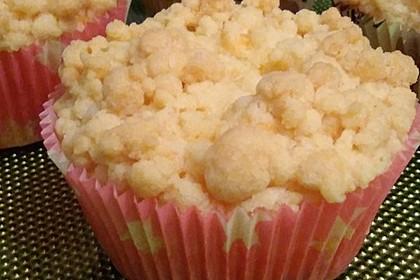 Käsekuchenmuffins mit Streuseln 1