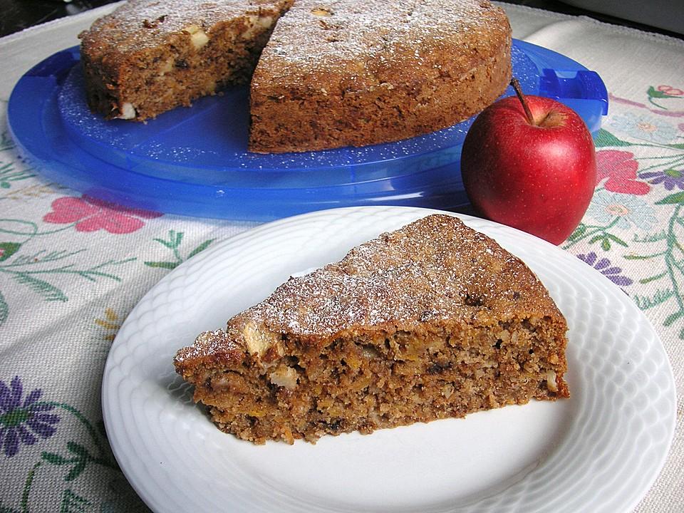 Weihnachtlicher Apfel Kurbis Kuchen Von Coffeejunkie42 Chefkoch De