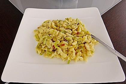 Käsespätzle mit Wirsing 5