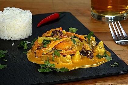 Raffiniertes Curry