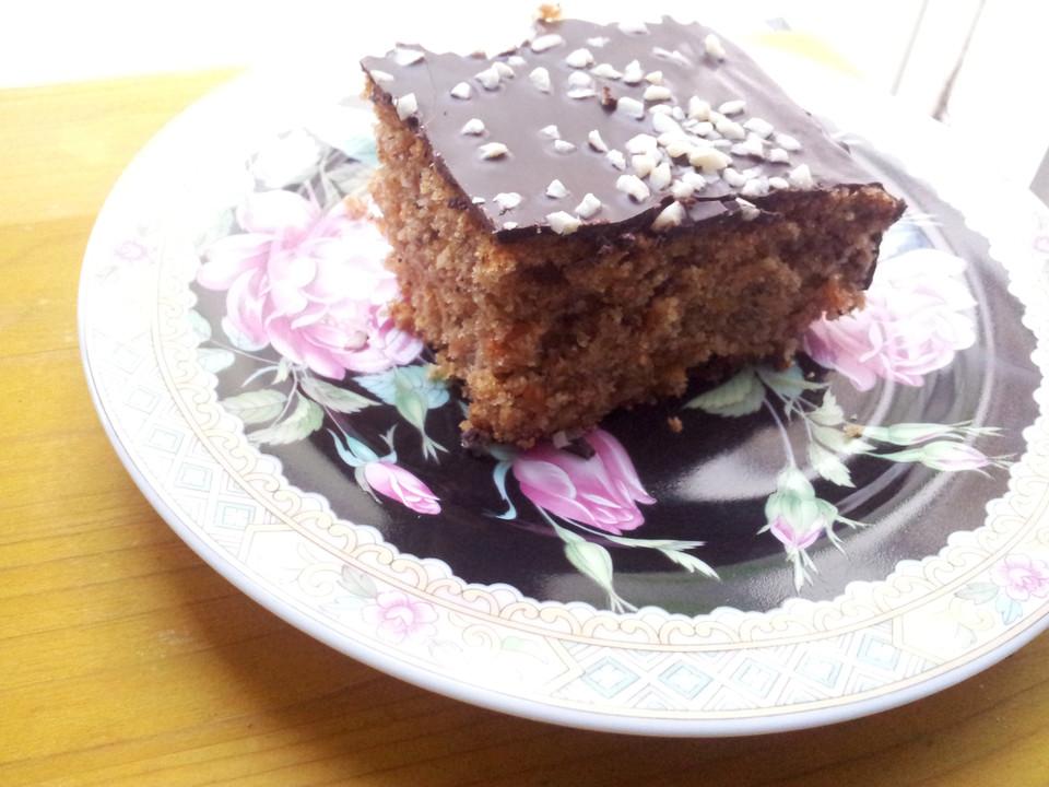 Dinkel Mohren Nuss Kuchen Von Laeuferin Chefkoch De