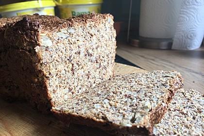 Low-Carb Brot mit Sonnenblumenkernen 93