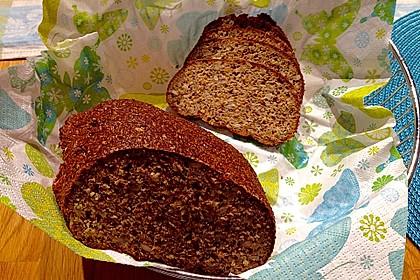 Low-Carb Brot mit Sonnenblumenkernen 42