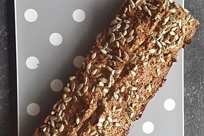Low-Carb Brot mit Sonnenblumenkernen 21