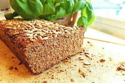 Low-Carb Brot mit Sonnenblumenkernen 66