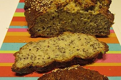 Low-Carb Brot mit Sonnenblumenkernen 100