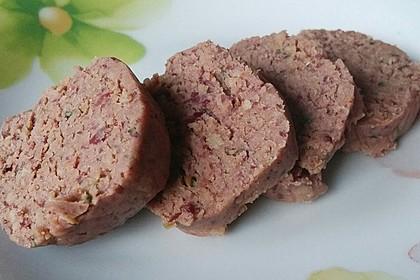 """Vegetarische """"Leberwurst"""" (Bild)"""