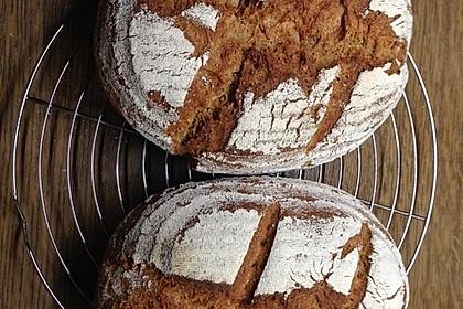 Brot ohne Kneten, Vinschgauer Art (Bild)