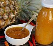 Ananas-Chili-Sauce (Bild)