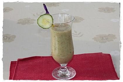 Birnen-Gurken-Smoothie mit Pfiff 1
