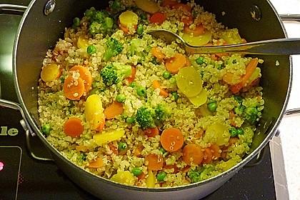 Gemüse-Quinoa-Pfanne 1