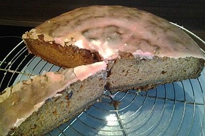 Veganer Möhrenkuchen (Bild)