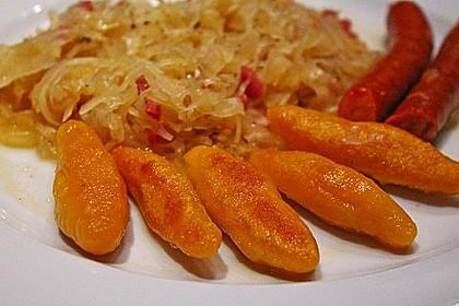 Schupfnudeln aus Süßkartoffeln 3