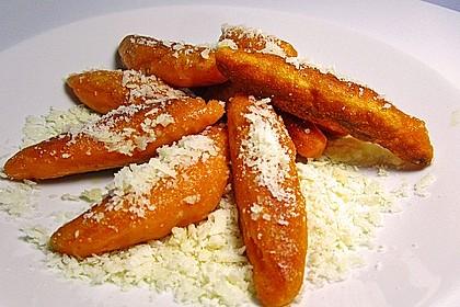 Schupfnudeln aus Süßkartoffeln 1
