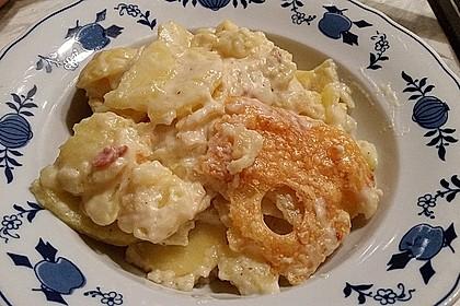 Kartoffelgratin mit Bacon 1