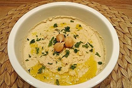 Hummus aus Kichererbsensprossen 1
