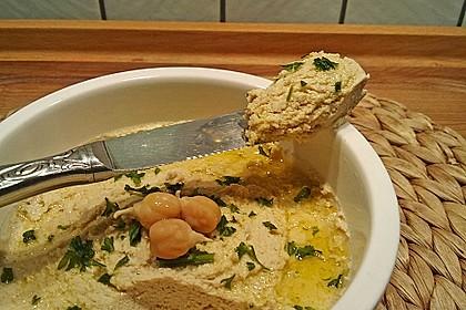 Hummus aus Kichererbsensprossen 2