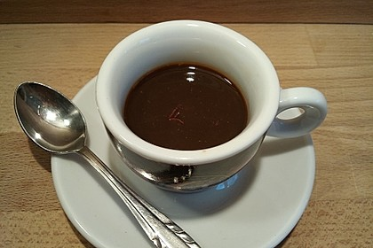 Safran-Espresso (Bild)