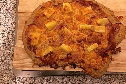 Püppis Pizzateig aus Thunfisch 2