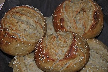 Dinkel-Malzbier-Brötchen 7