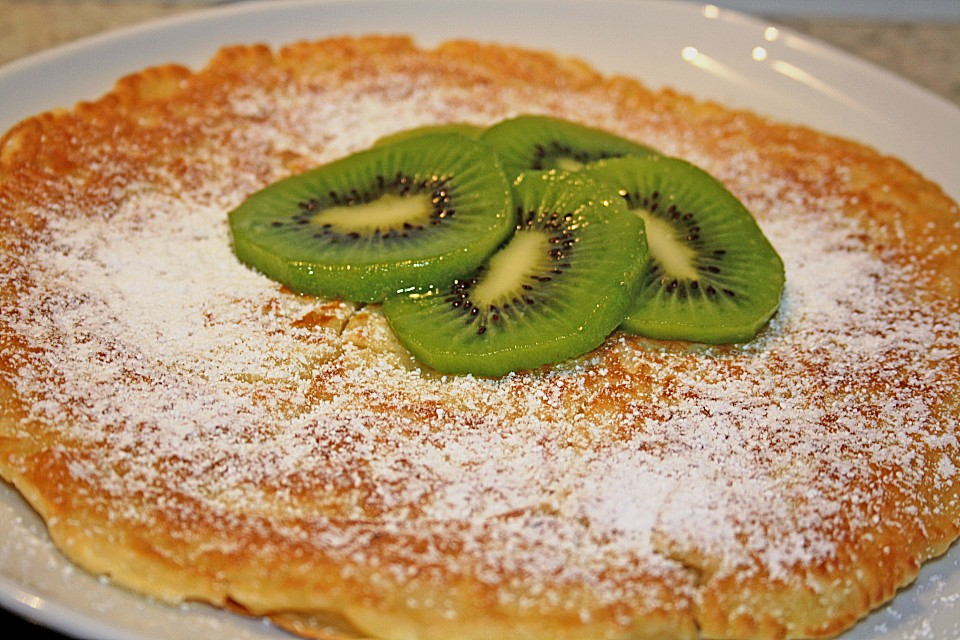 Schnelle Apfel - Pfannkuchen