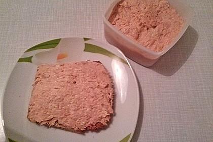 Brotaufstrich mit Brunch und Thunfisch (Bild)