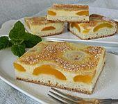 Aprikosenkuchen mit Grießguss (Bild)
