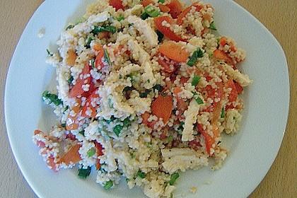 Couscous - Salat mit Tomaten & Mozarella 12