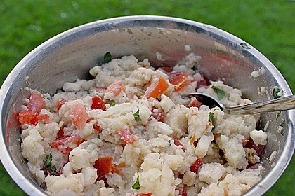 Couscous - Salat mit Tomaten & Mozarella 16
