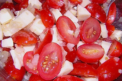 Couscous - Salat mit Tomaten & Mozarella 14