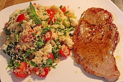 Couscous - Salat mit Tomaten & Mozarella 1