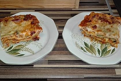 Lasagne mit buntem Gemüse 2