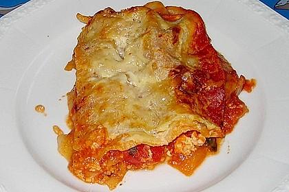 Lasagne mit buntem Gemüse 5