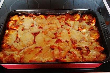 Lasagne mit buntem Gemüse 8