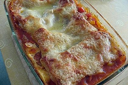 Lasagne mit buntem Gemüse 9
