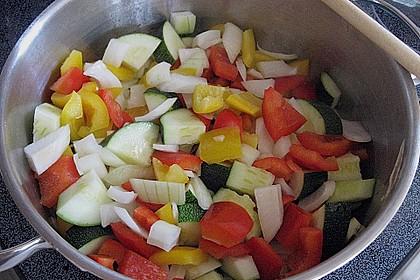 Lasagne mit buntem Gemüse 17