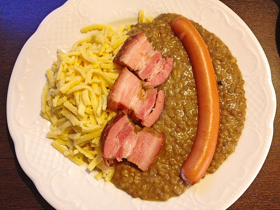 Linsen Schwäbisch Von Bummi68 Chefkochde