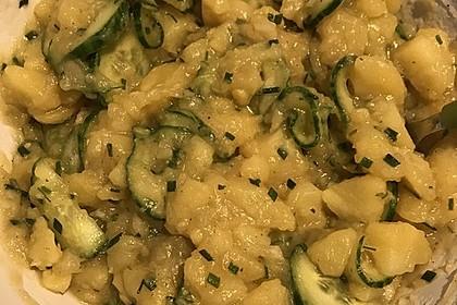 Bayrischer Kartoffelsalat mit Gurke 37
