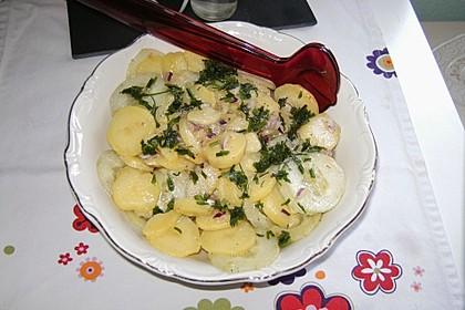 Bayrischer Kartoffelsalat mit Gurke 23