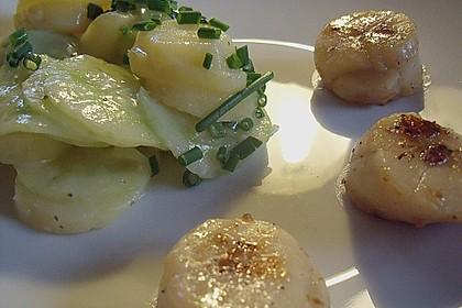 Bayrischer Kartoffelsalat mit Gurke 13
