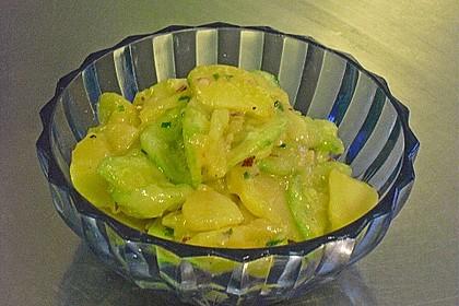 Bayrischer Kartoffelsalat mit Gurke 39