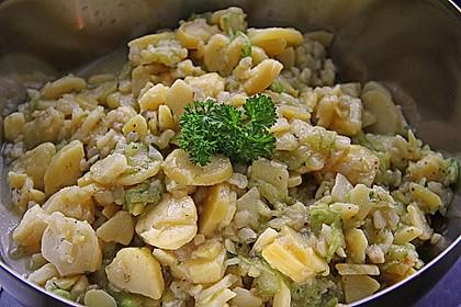 Bayrischer Kartoffelsalat mit Gurke 20