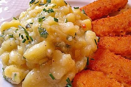Bayrischer Kartoffelsalat mit Gurke 7