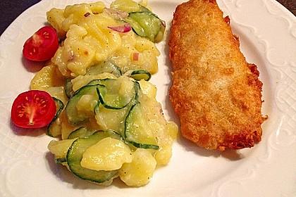 Bayrischer Kartoffelsalat mit Gurke 3