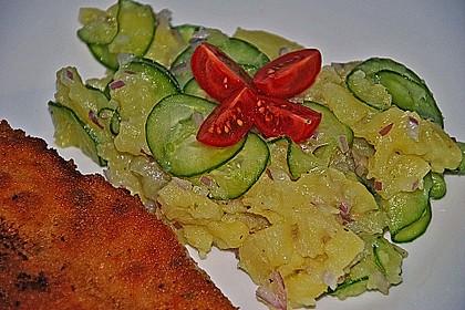 Bayrischer Kartoffelsalat mit Gurke 15