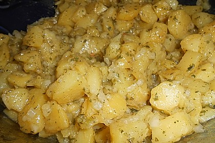 Bayrischer Kartoffelsalat mit Gurke 27
